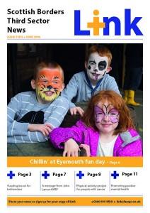 Image of front page of Link June 2016